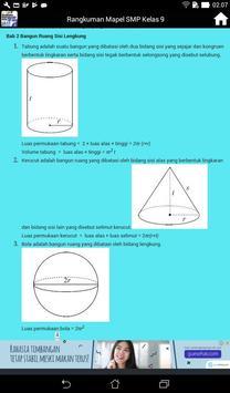 Rangkuman Semua Mata Pelajaran Kelas 9 SMP / MTS screenshot 7