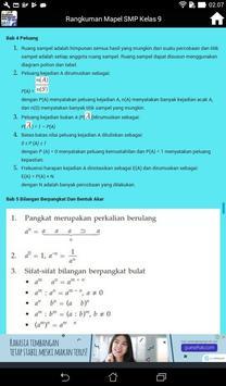 Rangkuman Semua Mata Pelajaran Kelas 9 SMP / MTS screenshot 8