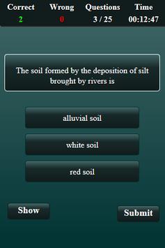 Soil Science Quiz screenshot 4