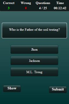 Soil Science Quiz screenshot 5