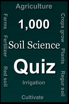 Soil Science Quiz poster