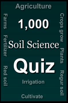 Soil Science Quiz poster