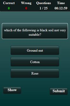 Soil Science Quiz screenshot 12