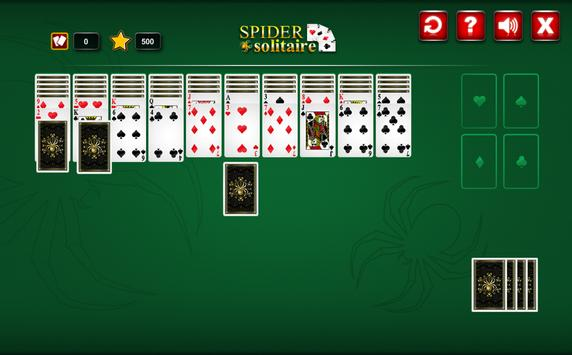 Deluxe Spider Solitaire poster