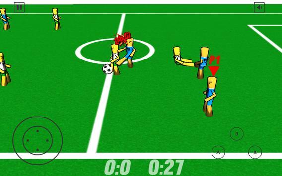 Mad Football screenshot 1