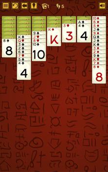 Scarab solitaire screenshot 1