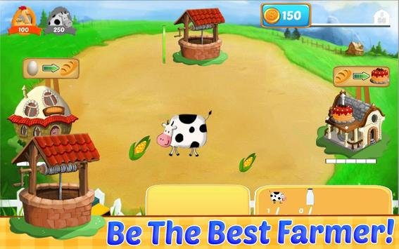 Cow Farm Games Free poster