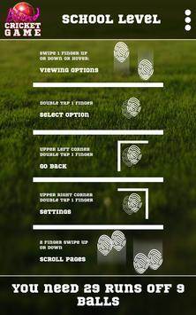 Blind Cricket screenshot 7