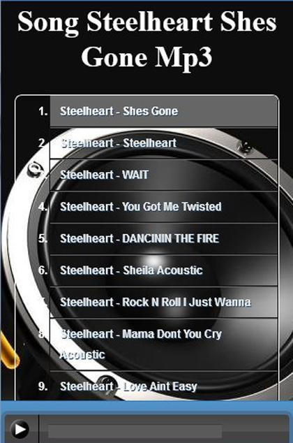 Song Steelheart Shes Gone Mp3 for Android - APK Download