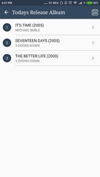 Hit COLDPLAY Album Songs Lyrics screenshot 4