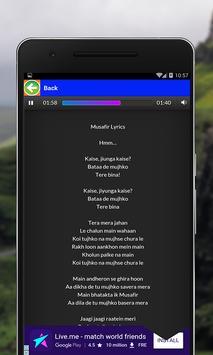 Songs of Atif Aslam apk screenshot