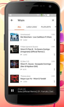 Songs of Wisin Yandel apk screenshot