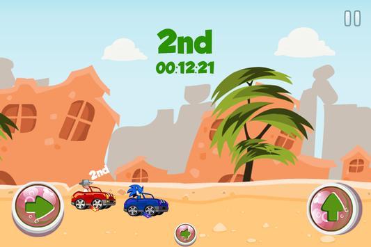 Sonic Vs Baby Boss Speed Race poster