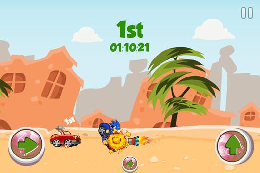 Sonic Vs Baby Boss Speed Race apk screenshot