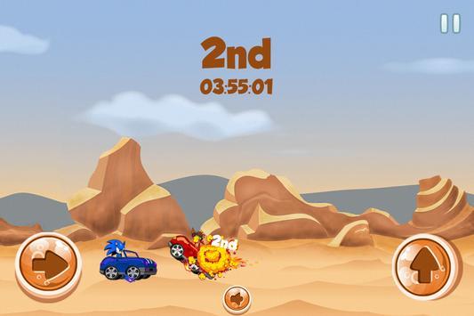 Sonic Vs Bandicoot Speed Race apk screenshot