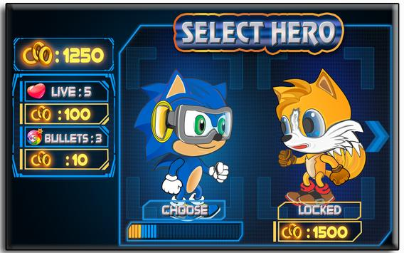 Super Sonic Heroes poster
