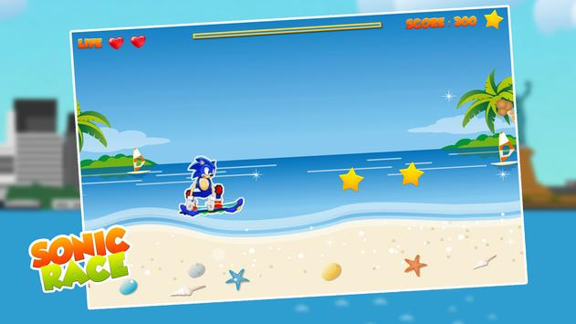 Sonic Hero Speed Race apk screenshot