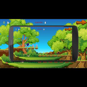 Crazy Sonic Run apk screenshot