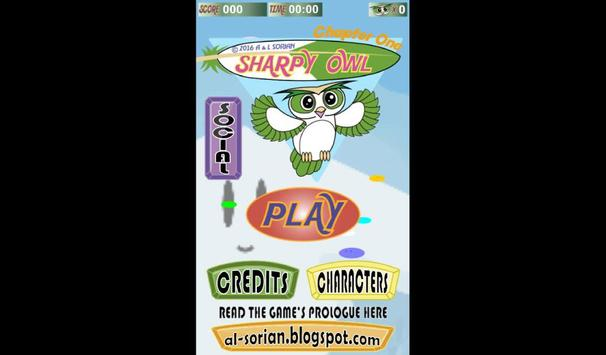 SHARPY OWL poster