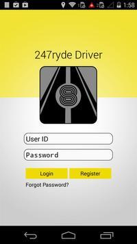 24/7 Ryde - DRIVER's app screenshot 1