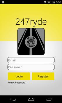 247Ryde apk screenshot