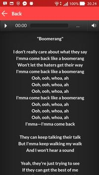 Jojo Siwa Boomerang Song Lyric screenshot 2
