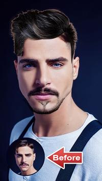 Man Hair Mustache Style poster