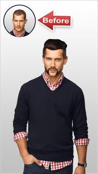 Man Hair Mustache Style screenshot 3