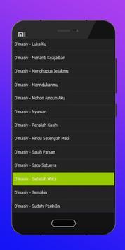 Lagu D'masiv Mengetuk Pintu Mp3 apk screenshot