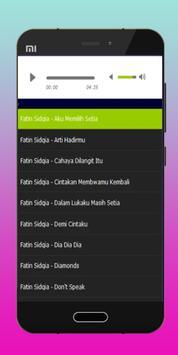 Lagu Fatin Sidqia Memilih Setia Mp3 apk screenshot