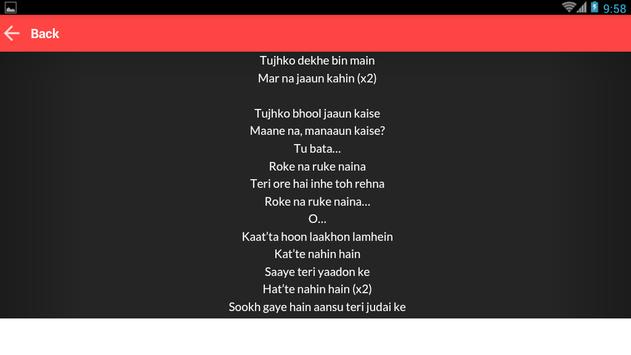 New Badrinath KiDulhania Lyric apk screenshot