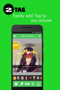 filters & stickers for whatsapp stories screenshot 1