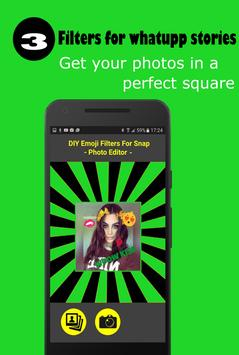filters & stickers for whatsapp stories screenshot 2