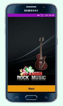 Spanish Rock Music poster