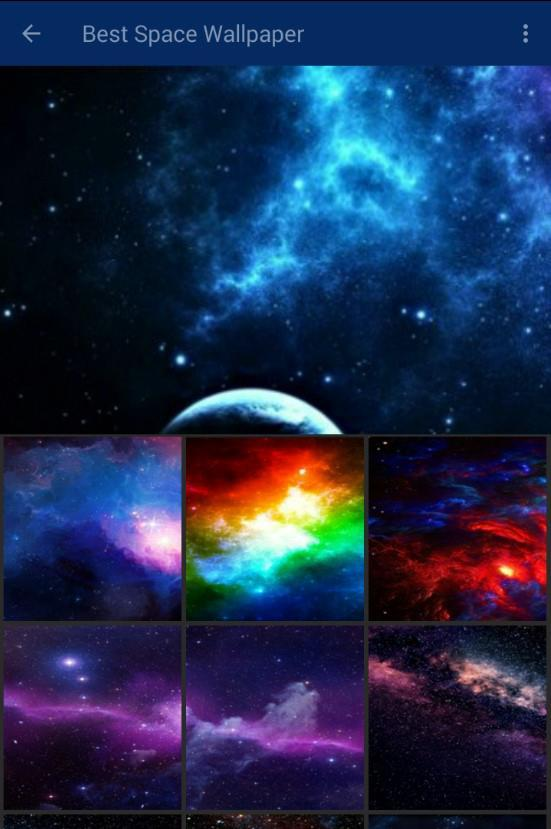Space Galaxy Wallpaper For Android Apk Download