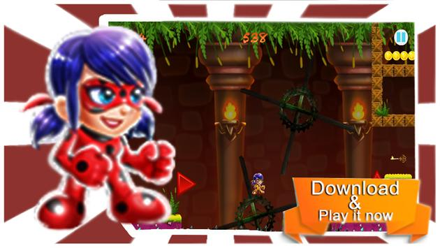 Ladybug Gold adventures apk screenshot