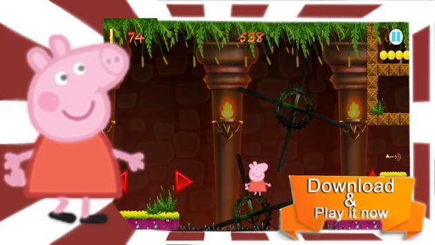 pepa happy pig jungle adventures poster