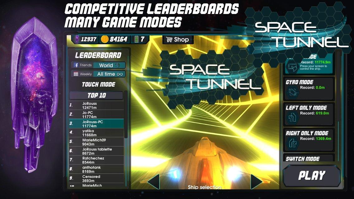 Download Space Tunnel Game PNG