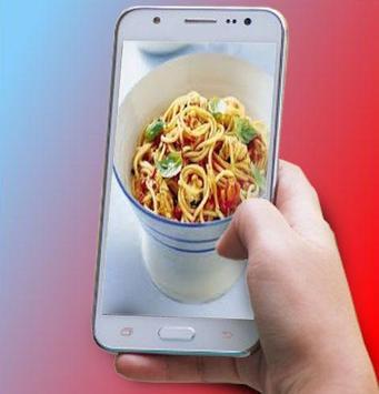 spaghetti recipe poster