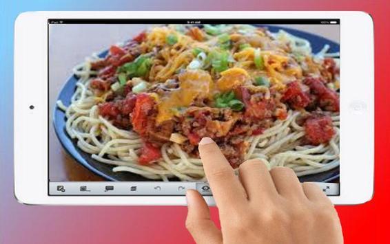 spaghetti recipe screenshot 3