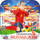 Spain World Cup 2018 Photo Frame & Dp maker Flag icon