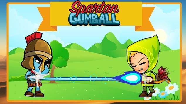 Spartan Gumball poster