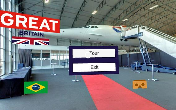 UK Brazil Airport Mission 2016 poster