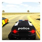 San Andreas Police Car 3D Sim icon