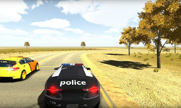 San Andreas Police Car 3D Sim poster