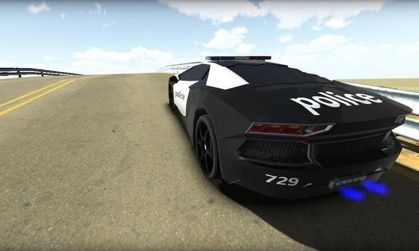 San Andreas Police Car 3D Sim apk screenshot