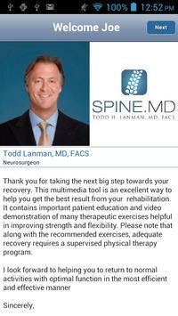 Spine MD screenshot 1