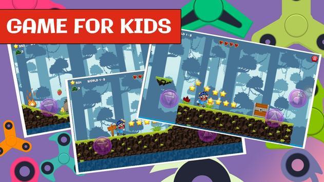 Jeffy Puppet for Fidget spinner SML kids game screenshot 1