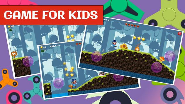 Jeffy Puppet for Fidget spinner SML kids game screenshot 4