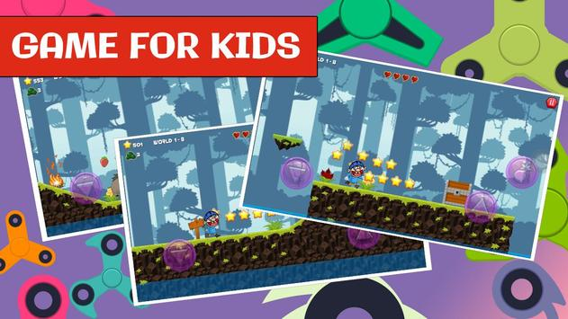 Jeffy Puppet for Fidget spinner SML kids game screenshot 5